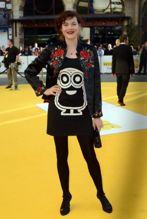 Jasmine Guinness at event of Minions (2015)