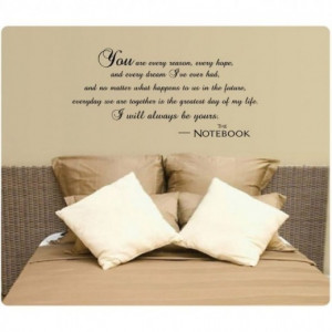 Beautiful Love Quotes Wall Stickers - to adorne your walls