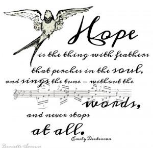 Emily Dickinson's quote #2