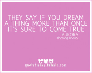 Disney Sleeping Beauty Quotes Quote. sleeping beauty.