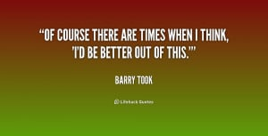 barry took quotes