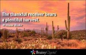 Harvest Quotes