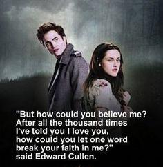 Famous Love Quotes From Twilight Saga ~ Twilight on Pinterest | 42 ...