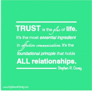 trust quotes Quotes on Trust