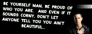 Eminem Beautiful Profile Facebook Covers