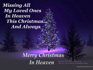 saturday s sayings christmas in heaven