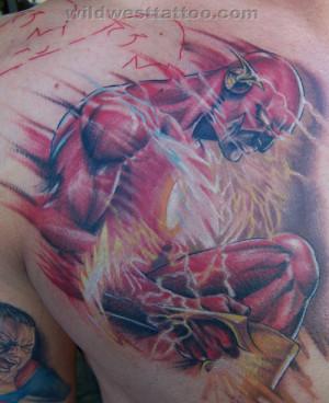 Flash Superhero Tattoo