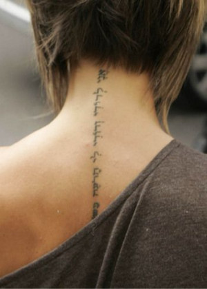 Tattoo: Popular Tattoo Quotes