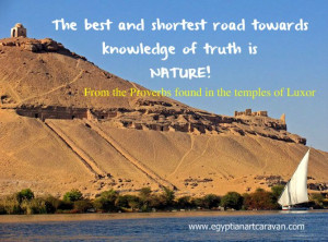 Quotes from the temples of ancient Egypt