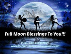 Full Moon Blessings! Remember you can feel the energy of a full moon 3 ...