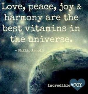 Peace Love And Harmony Wall...