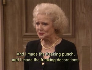 Attack of the Meme: A Food-Inspired Love Affair with the Golden Girls