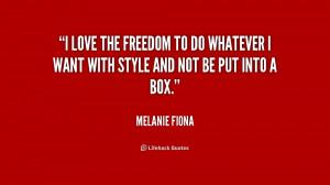 Melanie Fiona Quotes