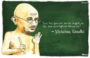gandhi oil painting with quote,mahatma gandhi,2nd october gandhi ...