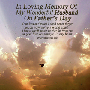 In Loving Memory Cards – Fathers Day – In Loving Memory Of My ...
