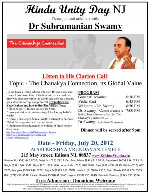 Dr. Subramanian Swamy in support of Sant Shri Asaram Bapu