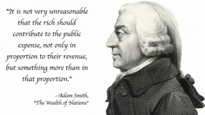 image from a friend. I haven't read Adam Smith's The Wealth of Nations ...