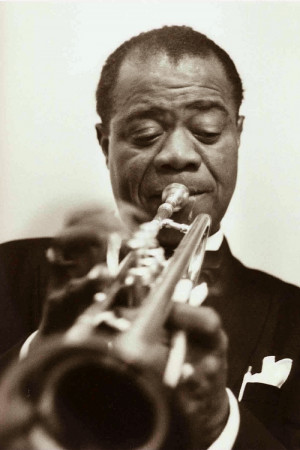 """... whiskey – it's an assistant – a friend."""" – Louis Armstrong"""