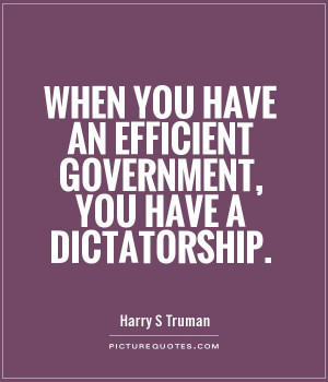 Government Quotes Harry S Truman Quotes