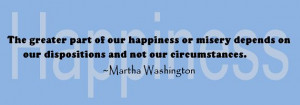 Military Wife Quote: The Greater Part of our Happiness   SpouseBUZZ ...