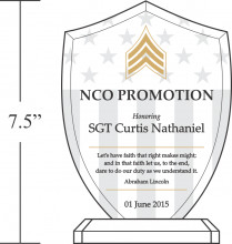 army recognition quote for promotion 322 5 nco promotion honoring ...
