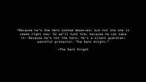 Dark Knight Wallpaper 1366x768 Dark, Knight, Quotes