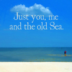Romantic Sea Quote Beach Ocean Seashore Coastal Word by korpita ...