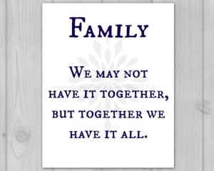 Family Quote Print-Art Quotes Art Quote-Gift for Family-Art Print ...