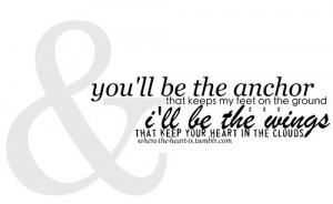 ... , cute, i need an anchor, inspiration, life, love, mayday, quote, te