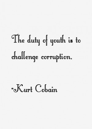 Kurt Cobain Quotes and Sayings