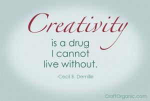Cecil B. Demille Quote