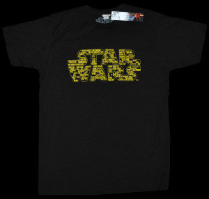 star wars quotes logo black male t shirt