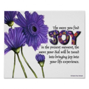 Finding Joy in the Moment Quote Poster #inspiration #motivation #quote ...