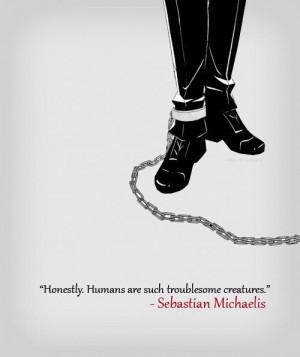Black Butler Sebastian Michaelis Quote