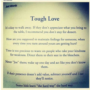 tough love quotes
