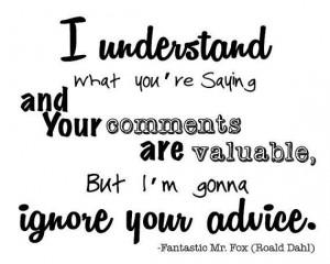 Roald Dahl - Fantastic Mr.Fox #books #quote