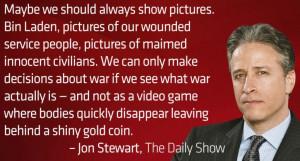 Jon Stewart On The Photo Of Bin Laden's Body