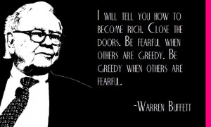 Warren Buffett's key to success...