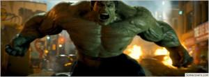 Incredible Hulk Facebook Cover