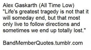 Alex Gaskarth (All Time Low)