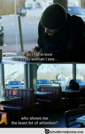 Eternal Sunshine Movie Quote – Falling in Love