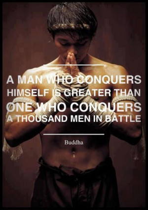 Exercise Quotes Men A man who conquers himslef is