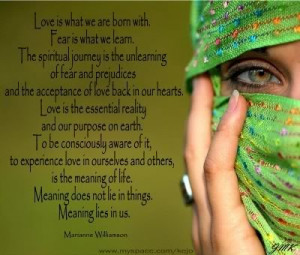 My Favorite Mariannne Williamson quotes