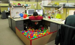 ... Have You Ever Been So Bored At Work , That You Did This? - 25 Pics