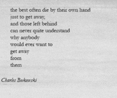 Popular Bukowski Images from 2011