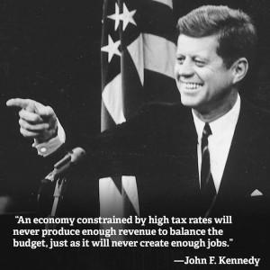 That liberal lion, John F. Kennedy