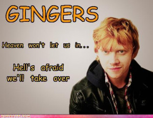 funny quotes about gingers