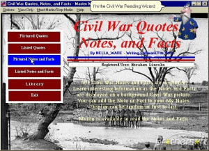 Civil War Quotes, Notes, and Facts 1.0 Download