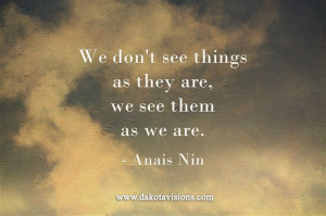 Thoughtful Thursday #Quote by Anais Nin posted on See You Behind the ...