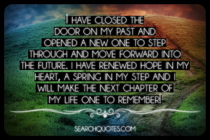 Close The Door On Your Past